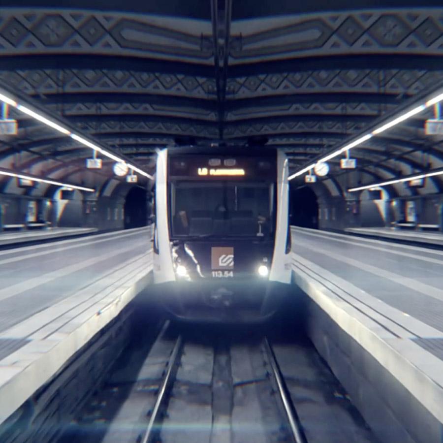 Sube al tren
